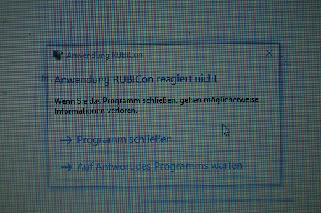 Time to say goodbye: Für RUBICon heißt es ab Anfang Mai Feierabend. Foto: lor