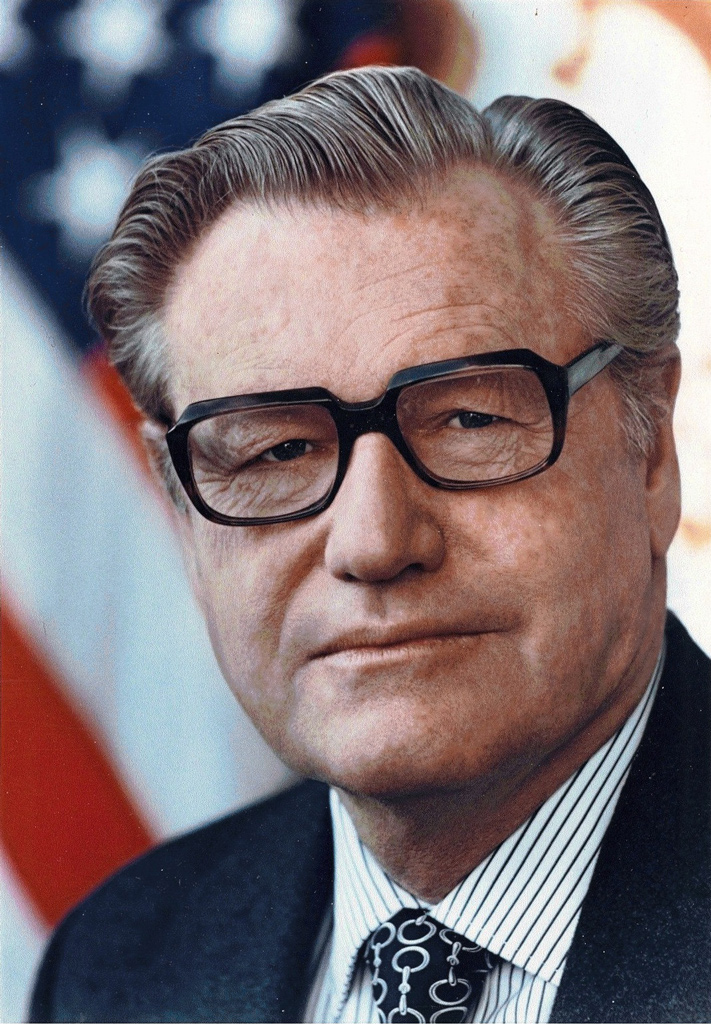 Business Tycoon Nelson Rockefeller: One of Trump's predecessors at the top of the political food chain in the US.