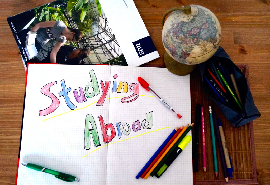 Studying abroad: Far from home and heading into a new direction. Bild: fufu