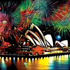 Australia's burning – and Sydney celebrates New Year's Eve with fireworks.