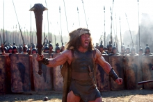 "Auf's Maul? So geht Entmystifizierung des Hercules-Stoffes im neuesten Blockbuster mit Dwayne ""The Rock""Johnson. Foto: © Paramount Pictures and Metro-Goldwyn-Mayer Pictures"