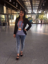 Has experienced half a world tour: Aasma Jabeen, student in Bochum. Foto: Aasma Jabeen