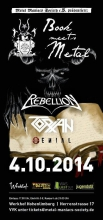 """Book meets Metal""-Festival in Hagen. Quelle: Metal Maniacs Society e. V."